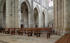 Eglise Saint-Urbain - Nederlands: Troyes (departement Aube, Frankrijk): interieur van de Sint-Urbanusbasiliek