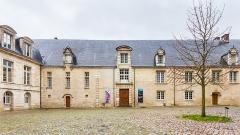 Ancien Evêché - Deutsch: Hof/Eingangsbereich des Musée d'art moderne de Troyes
