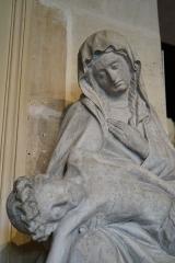 Hôtel-Dieu - sculpture au musée Vauluisant.
