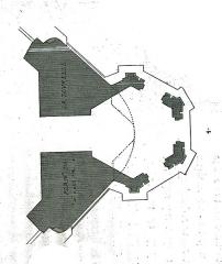Hôtel de Marisy - Français:   par un dessin de Fichot.