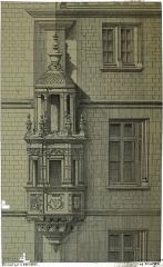 Hôtel de Marisy - Français:   sur un dessin de Fichot.