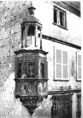 Hôtel de Marisy - Français:   dessin de l\'Hôtel de Marisy (Troyes)