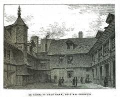 Hôtel de Mauroy - dessin de Charles Fichot.