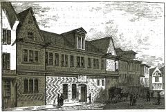 Hôtel de Mauroy - par un dessin de Fichot.
