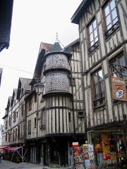 Maison de l'Orfèvre -  Aube Troyes Rue Champeaux Tourelle Orfevres