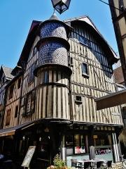 Maison de l'Orfèvre - Deutsch: Haus des Goldschmieds, Troyes, Département Aube, Region Champagne-Ardenne (heute Großer Osten), Frankreich