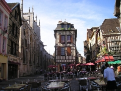 Maison - Deutsch:   Troyes Altstadt