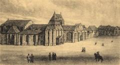 Préfecture de l'Aube (Hôtel de Département) - English: Abbaye de Notre-Dame-aux-Nonnains in Troyes, France.