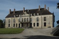 Château - Deutsch: Schloss in Vendeuvre-sur-Barse im Département Aube (Champagne-Ardenne/Frankreich)