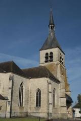Eglise - Deutsch: Kirche Saint-Pierre in Vendeuvre-sur-Barse im Département Aube (Champagne-Ardenne/Frankreich)