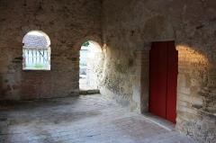 Chapelle Saint-Aventin - Français:   Façade Ouest et son portail ancien