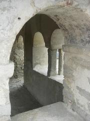 Chapelle Saint-Aventin - Français:   Chapelle de Saint Aventin, verrières (Aube): le nartex