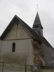 Chapelle Saint-Aventin - Français:   Chapelle saint Aventin commune de Verrières (Aube)