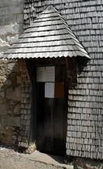 Eglise de l'Assomption de la Vierge - Deutsch: Eingang zum Glockenturm