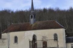 Ancienne abbaye de Clairvaux -  Chapelle Saint-Anne.