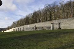 Ancienne abbaye de Clairvaux -  Mur d'enceinte (