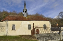 Ancienne abbaye de Clairvaux -  Chapelle Sainte-Anne.