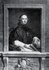 Ancienne abbaye de Clairvaux - English: Portrait of François Le Blois, abbot of Clairvaux (1763).