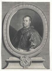 Ancienne abbaye de Clairvaux - English:   Portrait of Robert Gassot du Deffend, abbe de Clairvaux (1718-1740).