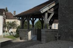 Eglise Saint-Pierre et Saint-Paul - Deutsch: Kirche Saint-Pierre-et-Saint-Paul in Vauchonvilliers im Département Aube (Champagne-Ardenne/Frankreich), offene Vorhalle
