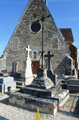 Eglise Notre-Dame-de-l'Assomption - English: The Cemetery Cross