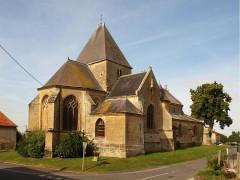 Eglise - Français:   Charbogne (Ardennes, France); église Saint-Rémi