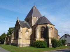 Eglise - Français:   Charbogne (Ardennes, France); église Saint-Rémi.