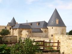 Ferme fortifiée - Français:   Charbogne (Ardennes, France); la ferme fortifiée.