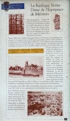 Basilique Notre-Dame de l'Espérance - Français:   Charleville-Mézières - Basilique Notre-Dame d\'Espérance - Panneau d\'information