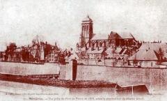 Basilique Notre-Dame de l'Espérance - Français:   carte postale de Charleville-Mézières .
