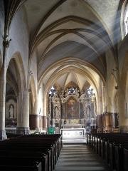 Eglise Saint-Lie de Mohon -  Nef de l\'Église Saint-Lié de Mohon