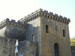 Enceinte - Fortifications de Mézières - Front ouest - Tour du Roy transformée en château d'eau de la ville en 1890