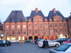 Immeuble -  Charleville Mezieres, Place Ducale (marketplace)