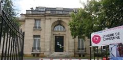 Maison de l'Ardenne, ancienne maison Blairon - Français:   lors du Festival mondial des théâtres de marionnettes de 2013 .