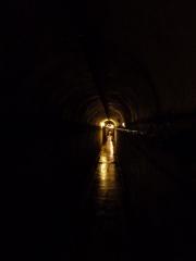 Fortifications de la ligne Maginot dites Ouvrage de la Ferté (également sur commune de Villy) - Français:   Tunnel  reliant le Bloc1 au Bloc 2