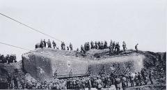 Fortifications de la ligne Maginot dites Ouvrage de la Ferté (également sur commune de Villy) - Français:   Ouvrage de la Ferté B 2