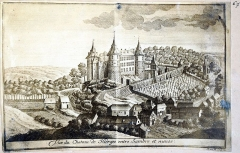 Château - French cartographer, architect and author