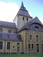 Eglise Saint-Rémi de Laval-Dieu - Français:   Abbaye de Laval Dieu, Monthermé, Ardennes, France
