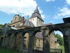 Eglise Saint-Rémi de Laval-Dieu - Français:   Abbaye Laval Dieu à Monthermé (France)