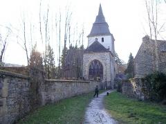 Eglise Saint-Rémi de Laval-Dieu - Français:   Abbaye de Laval Dieu à Monthermé (France)