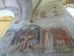 Eglise Saint-Léger - Français:   L\'église Saint-Léger est l\'une des trois églises de la commune de Monthermé et est dédiée à  Saint-Léger, Trinité du mur est du transept, classée M.H..
