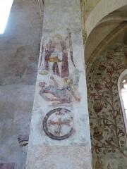 Eglise Saint-Léger - Français:   L\'église Saint-Léger est l\'une des trois églises de la commune de Monthermé et est dédiée à  Saint-Léger, ici Saint Michel