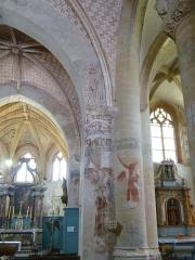 Eglise Saint-Léger - Français:   L\'église Saint-Léger est l\'une des trois églises de la commune de Monthermé et est dédiée à  Saint-Léger