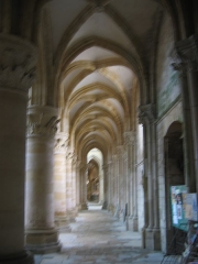 Eglise abbatiale Notre-Dame - Bas cote Abbatiale Mouzon Ardennes France