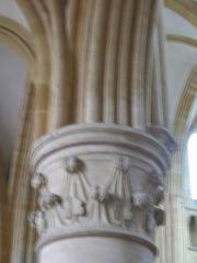 Eglise abbatiale Notre-Dame - Chapiteau Abbatiale Mouzon Ardennes France