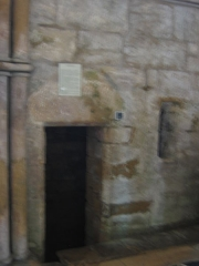 Eglise abbatiale Notre-Dame - recluserie Abbatiale Mouzon Ardennes France