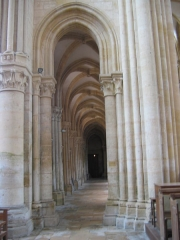 Eglise abbatiale Notre-Dame - Detail Abbatiale Mouzon Ardennes France