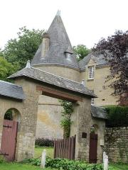 Château - Français:   entrée du château de Remilly-les-Pothées Ardennes France