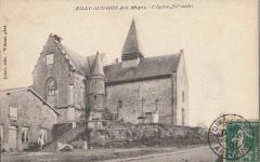 Eglise Saint-Waast - Français:   Rilly-aux-Oies (Ardennes, France) , carte postale antérieure à 1914