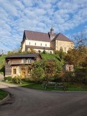 Eglise - Français:   Saint-Loup-Terrier (Ardennes, France); l\'église.